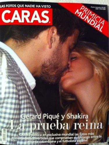 El apasionado beso de Shakira y Gerard Piqué que confirma definitivamente su romance
