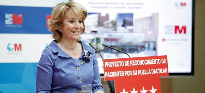Esperanza Aguirre se someterá a radioterapia tras su operación de cáncer