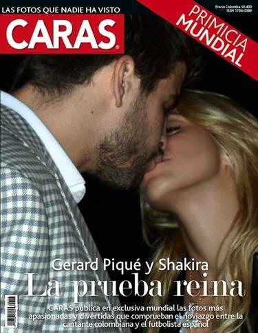 Beso de Shakira y Gerard Piqué