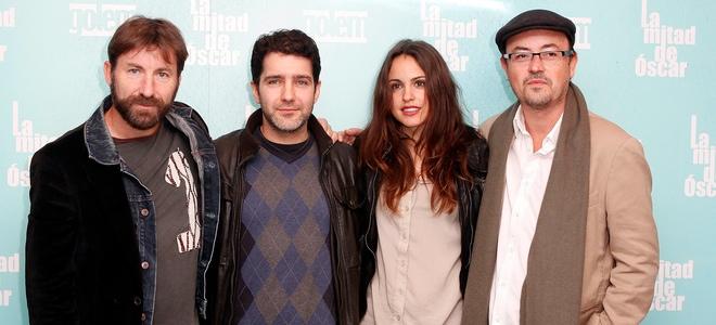 Verónica Echegui y Antonio de la Torre forman parte de 'La mitad de Óscar'