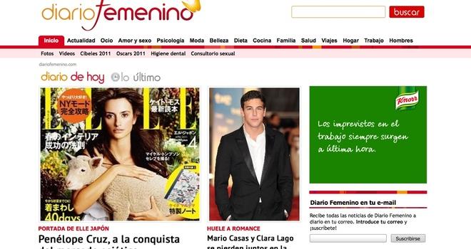 Diario Femenino supera el millón de visitantes únicos