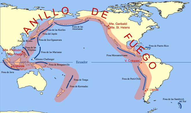 Cinturón de Fuego del Pacífico: terremotos, tsunamis y el fin del mundo en 2012: Wikipedia
