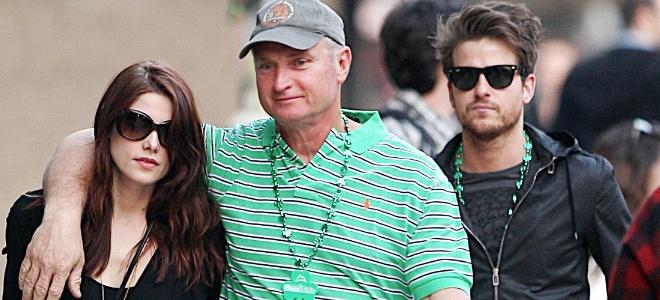 Ashley, papa y rockero