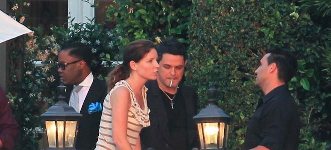 Alejandro Sanz y María José Suárez, invitados en el glamouroso bautizo de la hija de David Bisbal