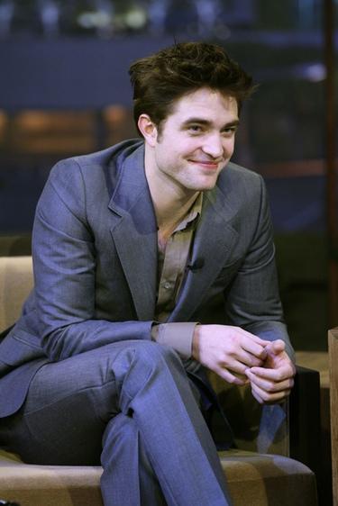 Robert Pattinson en el show de Jay Leno