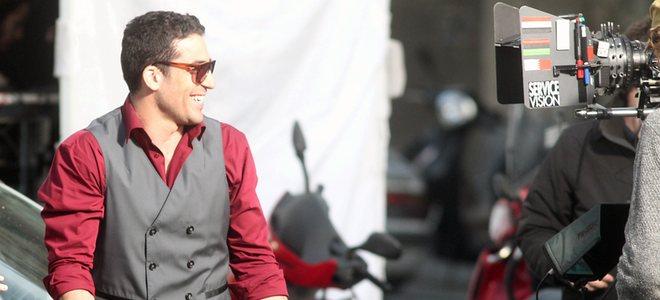 Miguel Ángel Silvestre continúa el rodaje de 'Los Pelayo' sin Blanca Suárez
