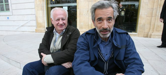 Imanol Arias y Juan Echanove 'discuten' por las descargas en internet