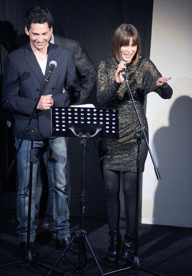 Aitana Sánchez-Gijón y Paco León presiden la gala Mecenazgo en el Teatro Lara