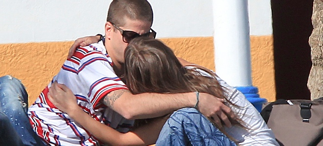 Ana Fernández y Luis Fernández, luna de miel tras el Festival de Cine de Málaga