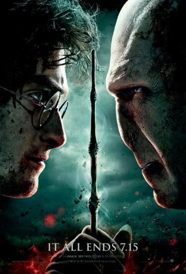 Daniel Radcliffe se llena las manos de sangre en la última entrega de la saga 'Harry Potter'