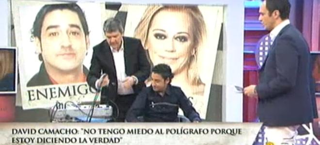 El polígrafo de 'Enemigos íntimos' dice que David Camacho fue amante de Belén Esteban
