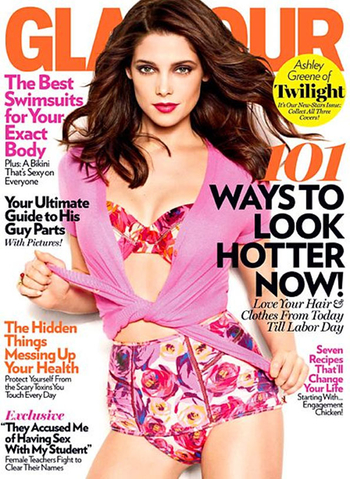Ashley Greene es portada de Glamour