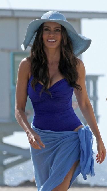 Sofía Vergara seduce a David Beckham con sus sugerentes curvas