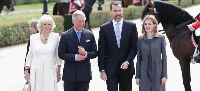 La complicidad de la Princesa Letizia y Camilla Parker Bowles