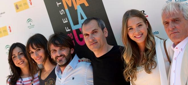 Fernando Tejero y Pepe Sancho presentan 'En fuera de juego' en el Festival de Málaga