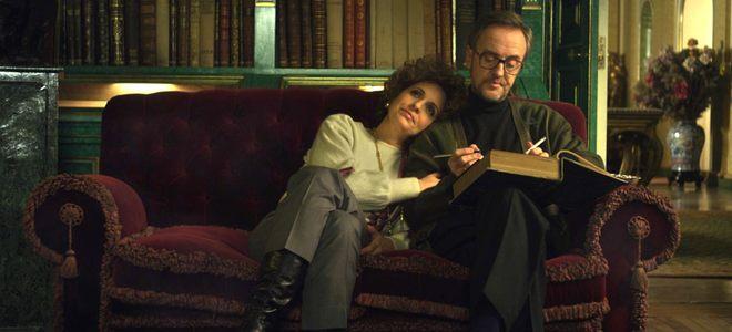 Adriana Ozores y Carlos Hipólito en 'La Duquesa II'