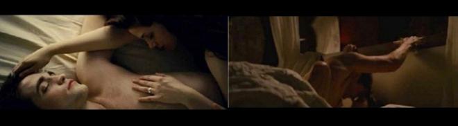 Robert Pattinson, indignado al ver las imágenes de sexo explícito de 'Amanecer'