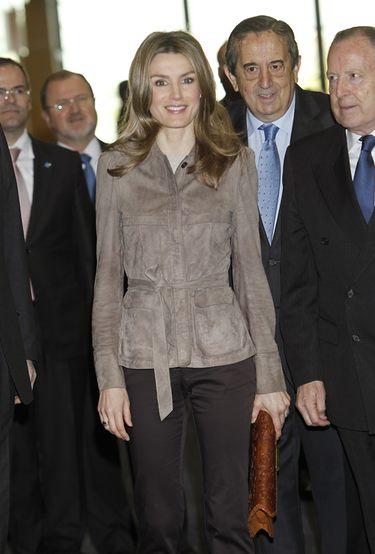 La Princesa Letizia cree que FP es la vía que puede reorientar el modelo económico