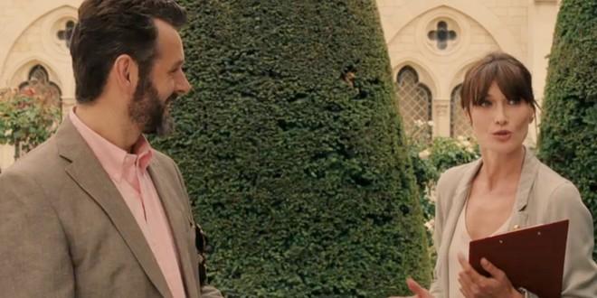 Woody Allen, encantado con la actuación de Carla Bruni en 'Medianoche en París'