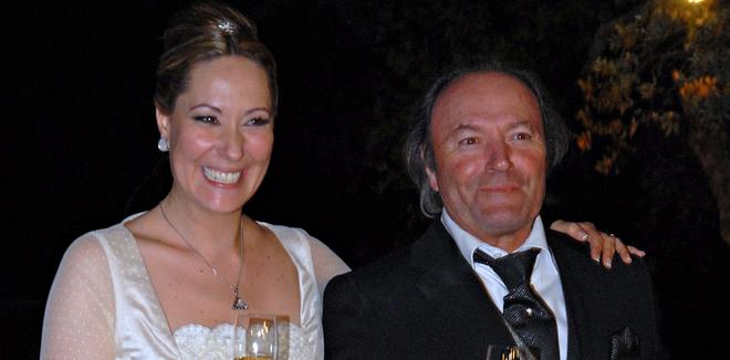 Challo Mohedano y su padre