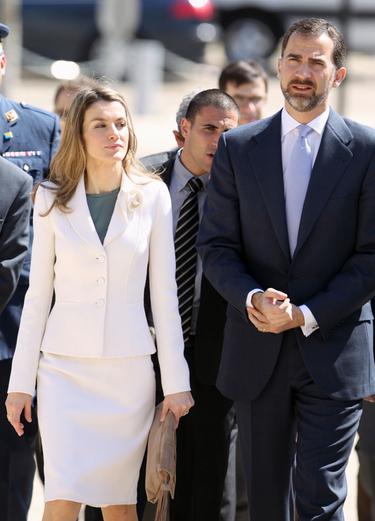 La Princesa Letizia saca su instinto maternal en su viaje oficial a Israel