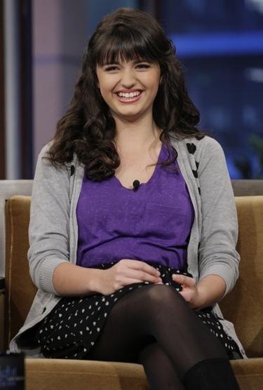 Rebecca Black sigue los pasos de Justin Bieber: 'Friday' se cantará en 'Glee'
