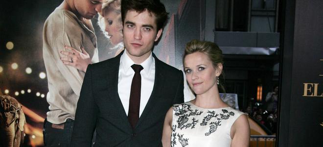 Robert Pattinson y Reese Whiterspoon, muy cómplices en el estreno de 'Agua para elefantes'