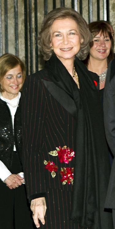 La Reina Sofía inicia sus vacaciones en Mallorca presidiendo un concierto benéfico