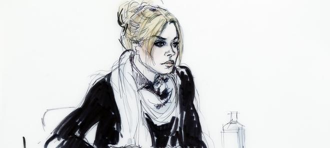 Imagen del juicio del Lohan