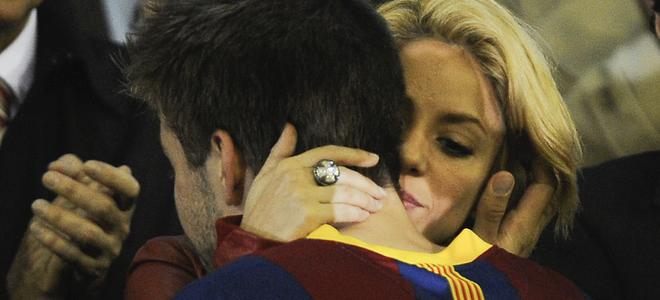 Shakira y Sara Carbonero, el mejor apoyo de Piqué y Casillas desde el palco