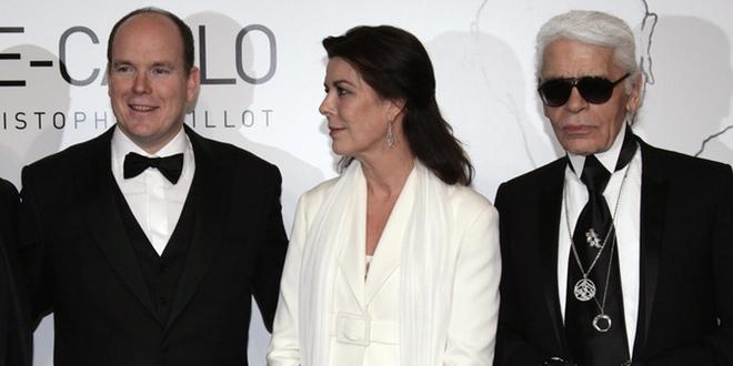 Karl Lagerfeld aconseja a Alberto de Mónaco que adelgace para su boda