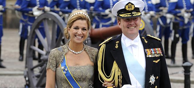 Maxima Zorreguieta y Guillermo de Holanda