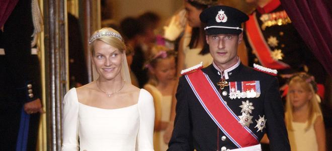 Haakon de Noruega y Mette-Marit Tjssen