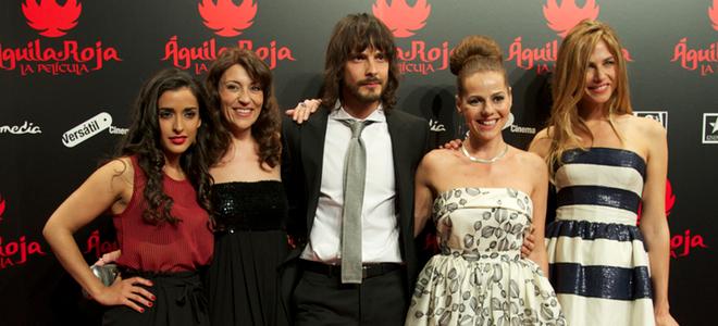'Águila Roja' traslada su éxito al cine y recauda 1,7 millones en cinco días