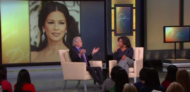 Michael Douglas en show de oprah