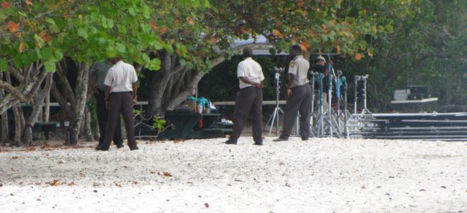 policia rodaje amanecer