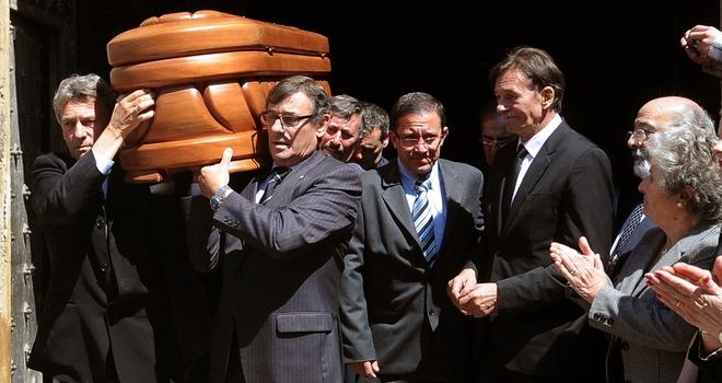 Funeral de María Isbert: cerca de mil personas le dan un último adiós