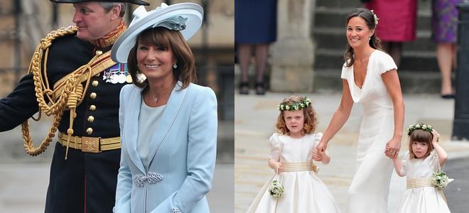 Carole y Pippa Middleton, elegantes y perfectas