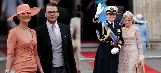 Victoria de Suecia y Máxima Zorreguieta, bellísimas