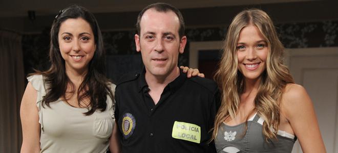 El 'Buen Agente' Antonio Molero y sus chicas: Malena Alterio, Carmen Ruiz y Patricia Montero