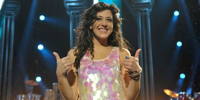 Lucía Pérez, con ganas de disfrutar en Eurovisión con 'Que nos quiten lo bailao'