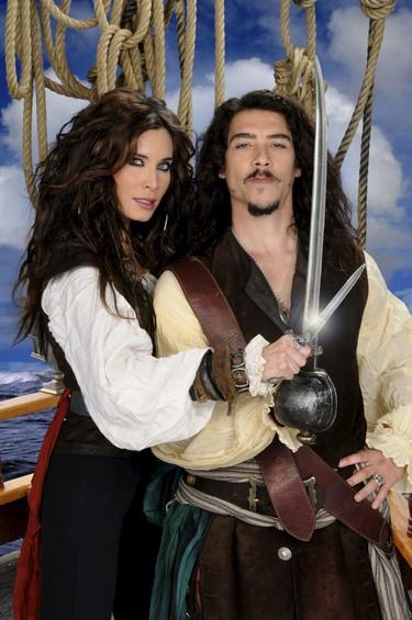 Óscar Jaenada, Pilar Rubio y Silvia Abascal, los 'Piratas' comienzan su aventura