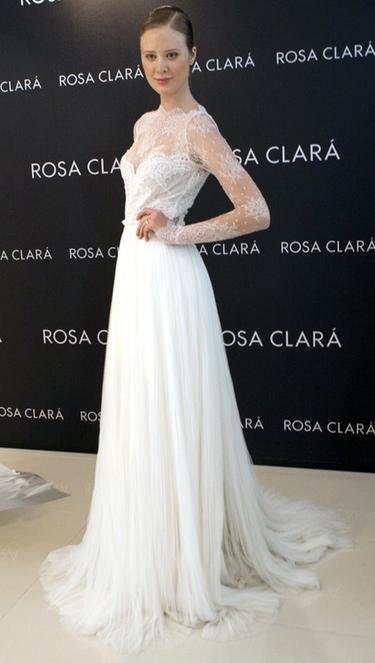 Rosa Clará y Pronovias, listas para los desfiles de la Barcelona Fashion Week 2011