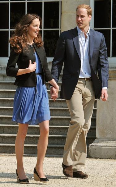 El príncipe Guillermo y Kate Middleton ya disfrutan de su luna de miel en paradero desconocido