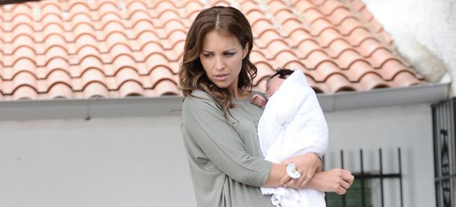 Paula Echevarría demuestra sus dotes de madre en 'Vulnerables'