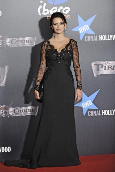 Penélope Cruz, espectacular en la premiere de 'Piratas del Caribe 4' en Madrid