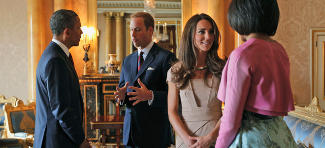 Kate Middleton y Michelle Obama