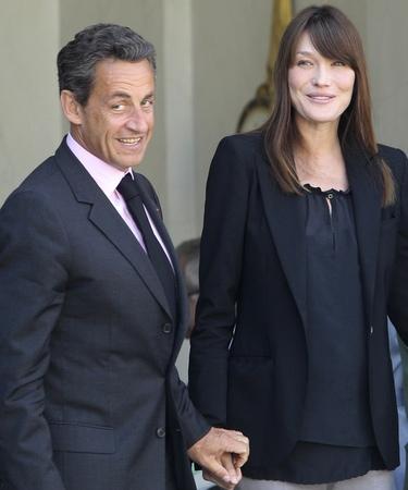 Ya se conoce el sexo del bebé de Carla Bruni y Nicolas Sarkozy: esperan un niño