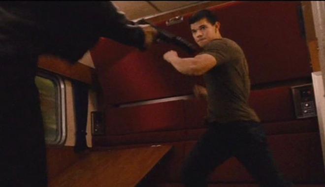 Las imágenes de acción extrema de 'Abduction' protagonizadas por Taylor Lautner