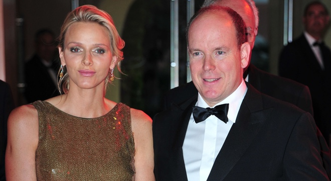 Charlene Wittstock y Alberto de Mónaco causan sensación en el Gran Premio de Fórmula 1 de Mónaco